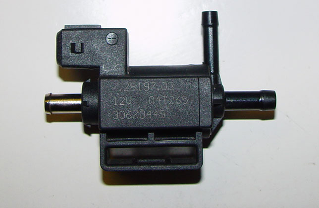 Solenoid on 2001 Volvo S60 Turbo
