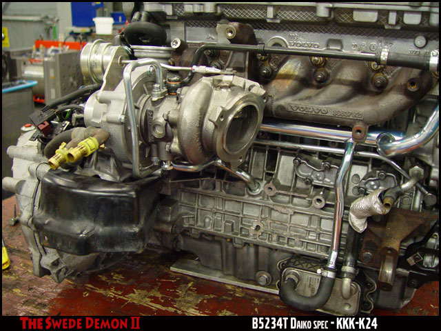 B T on Volvo S40 Turbocharger