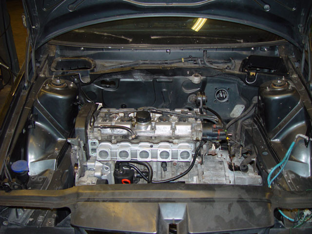 project mjölnir volvo 850 na itb turbobricks forums and while being light weight before the engine went in i mounted the kw suspension
