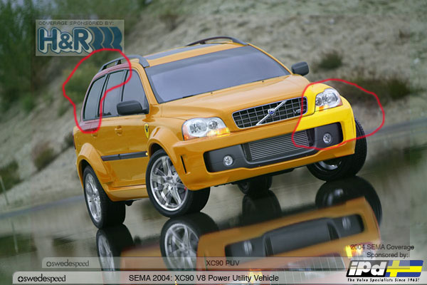 La Auto Show Supercharged Volvo Xc90 V8 Debuts At 2005 Greater